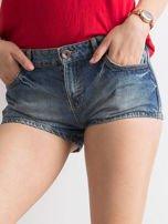 Niebieskie jeansowe szorty                                                                          zdj.                                                                         1