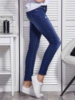 Niebieskie jeansy skinny                                   zdj.                                  5