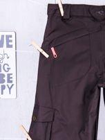 O'NEILL Brązowe spodnie narciarskie dla dziewczynki                                  zdj.                                  5