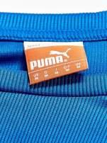 PUMA Niebieska bluzka męska z przeszyciami                                  zdj.                                  4