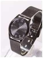 Piękny damski zegarek z PIESKIEM na bransolecie typu Mesh                                  zdj.                                  1