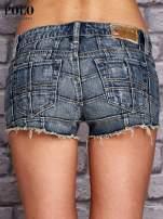 RALPH LAUREN Niebieskie szorty jeansowe trashed                                  zdj.                                  2