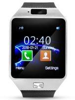 RONEBERG Smartwatch R09 Współpracuje z Android oraz iOS Powiadomienia Połączenia Krokomierz Monitor snu Czarno-srebrny                                  zdj.                                  1