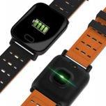 RONEBERG Smartwatch Smartband RA6 Pulsometr Ciśnieniomierz Oksymetr Powiadomienia Długi czas działania Czarny                                  zdj.                                  4