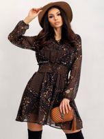 RUE PARIS Czarna sukienka Camilla                                  zdj.                                  2