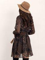 RUE PARIS Czarna sukienka Camilla                                  zdj.                                  4