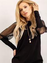 RUE PARIS Czarna sukienka Espinosa                                  zdj.                                  1