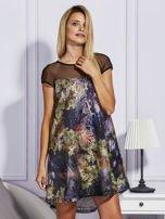 Rozkloszowana sukienka z cekinami                                  zdj.                                  5