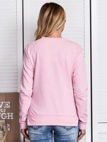 Różowa bluza ze szminkami                                   zdj.                                  2