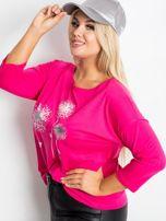 Różowa bluzka plus size Dreamer                                  zdj.                                  3