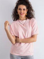 Różowa melanżowa bluzka Lemontree                                  zdj.                                  1