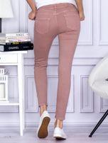 Różowe spodnie z kieszeniami                                   zdj.                                  2