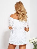 Biała koronkowa bluzka hiszpanka                                  zdj.                                  3