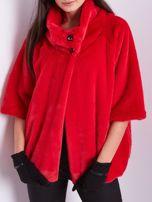 Czerwone krótkie futro                                  zdj.                                  2