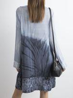 Sukienka z cekinami niebieska                                  zdj.                                  2