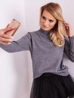 Szary sweter damski                                  zdj.                                  6