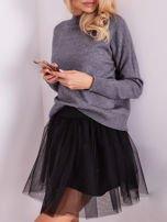 SCANDEZZA Szary sweter damski                                  zdj.                                  9