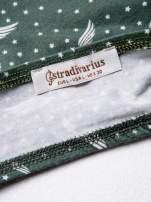 STRADIVARIUS Zielony bralet w gwiazdki                                  zdj.                                  3