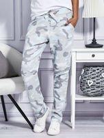 Spodnie dresowe deseń moro szare                                  zdj.                                  1