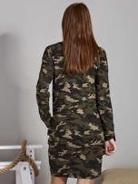 Sukienka damska dresowa moro                                   zdj.                                  2