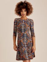 Sukienka w geometryczne wzory                                  zdj.                                  1