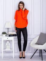 Sweter pomarańczowy z dłuższym włosem                                  zdj.                                  4