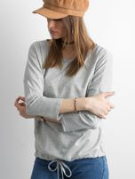 Szara bluzka Fiona                                  zdj.                                  3