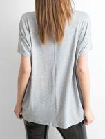 Szara bluzka Oversize                                  zdj.                                  2