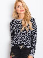 Szaro-czarny sweter Jacky                                  zdj.                                  6