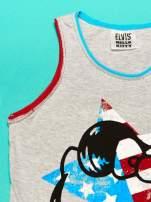 Szary komplet do spania dla dziewczynki z nadrukiem ELVIS HELLO KITTY                                  zdj.                                  7