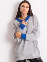 Szary sweter Pretty                                  zdj.                                  1