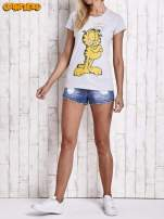 Szary t-shirt GARFIELD                                  zdj.                                  8