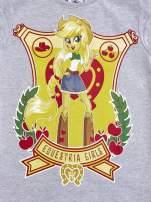Szary t-shirt dla dziewczynki EQUESTRIA GIRLS                                                                          zdj.                                                                         4