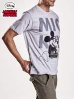 Szary t-shirt męski MICKEY MOUSE                                   zdj.                                  5