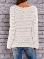 TOM TAILOR Beżowy sweter long hair                                  zdj.                                  3