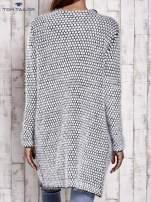 TOM TAILOR Biały wełniany puszysty sweter                                                                          zdj.                                                                         4