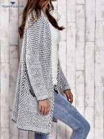TOM TAILOR Biały wełniany puszysty sweter                                                                          zdj.                                                                         3