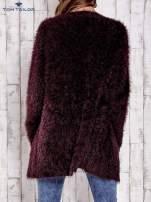 TOM TAILOR Bordowy włochaty sweter                                                                           zdj.                                                                         5