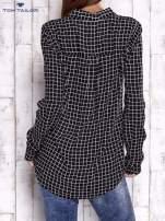 TOM TAILOR Czarna koszula w kratkę                                  zdj.                                  2