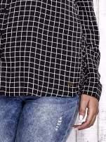 TOM TAILOR Czarna koszula w kratkę                                  zdj.                                  7
