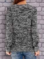 TOM TAILOR Czarny melanżowy sweter                                   zdj.                                  3