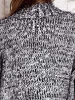 TOM TAILOR Czarny włochaty sweter z kieszeniami                                                                          zdj.                                                                         9