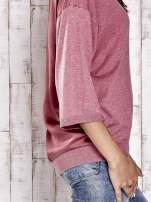 TOM TAILOR Koralowy sweter z satynowym tyłem                                  zdj.                                  6