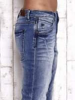 TOM TAILOR Niebieskie modułowe spodnie jeansowe                                  zdj.                                  5