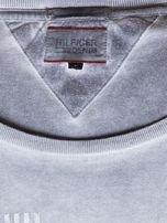 TOMMY HILFIGER Szary dekatyzowany t-shirt męski                                  zdj.                                  6