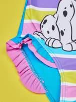 Turkusowy strój kąpielowy dla dziewczynki 101 DALMATYŃCZYKÓW                                  zdj.                                  4
