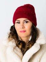 V&T Winter Fashion Czarna Ocieplana Czapka Męska                                  zdj.                                  2