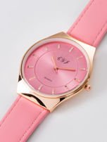 Zegarek damski różowy                                  zdj.                                  2
