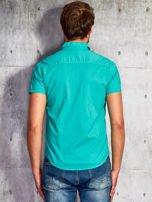 Zielona gładka koszula męska Funk n Soul                                  zdj.                                  2