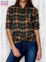 Zielona koszula w kratę                                   zdj.                                  5